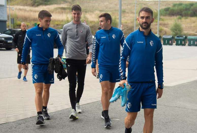 Osasuna superó al Espanyol en Liga. EFE