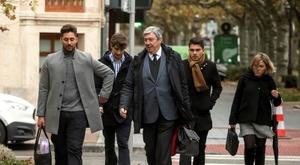 Calvo, Viti y Lucho, condenados a prisión. EFE