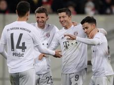 El Bayern, a trasladar su confianza a la Bundesliga. EFE