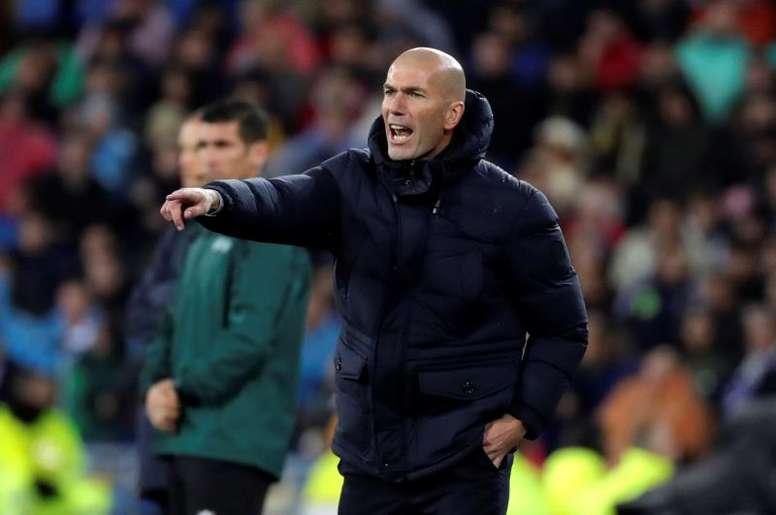 Las sorprendentes rotaciones de Zidane antes del 'Clásico'. EFE/Archivo