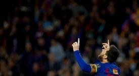 Le retour du Messi au Camp Nou. EFE/Enric Fontcuberta/Archivo