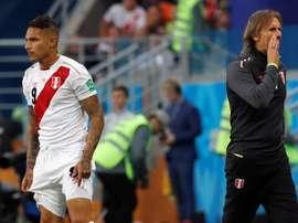 El seleccionador de Perú cree que encajaría a la perfección en Boca. EFE