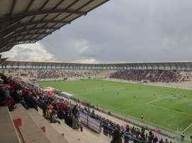 El fútbol boliviano regresa a El Alto. EFE