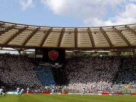 Estádio Olímpico pode ser o palco dos jogos restantes da Serie A. EFE/Ettore Ferrari