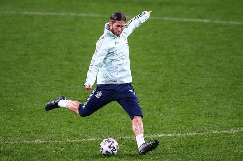 Sergio Ramos, entre los mejores de la fase de clasificación para la Eurocopa 2020.