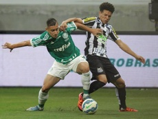 Palmeiras y Santos lucharán por la medalla de plata. EFE
