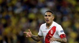 Paolo Guerreiro falou sobre sua possível ida ao Boca. EFE/Fernando Bizerra/Archivo