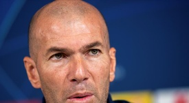 Zidane analysed Real Madrid's win. EFE/Archivo