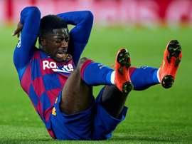 Niegan la puja por Dembélé del United. EFE