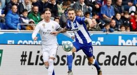 Joselu analizó el partido ante el Granada. EFE