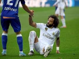 O brasileiro sofre uma lesão muscular no sóleo esquerdo. EFE