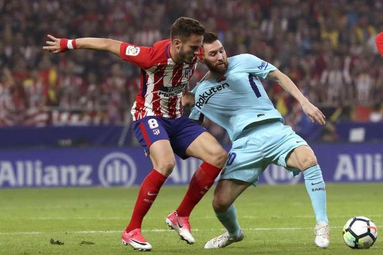 Prováveis escalações de Atlético de Madrid e Barcelona. EFE