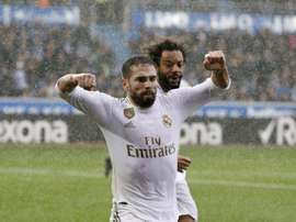 Carvajal veut voir Mbappé à Madrid.  EFE/ David Aguilar
