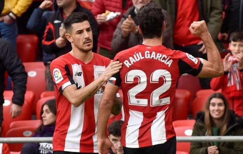 El Athletic regresará a San Mamés. EFE/Miguel Toña