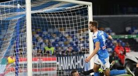 Il Napoli perde contro il Bologna. EFE