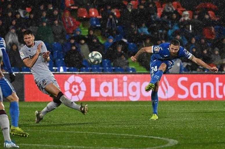 El Levante encajó ocho goles ante Getafe y Valencia. EFE