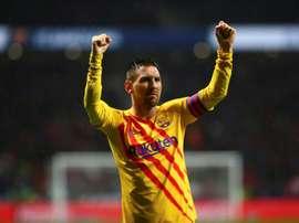 Bartomeu quer Lionel Messi no Barcelona por quanto tempo o argentino quiser. EFE/Rodrigo Jiménez