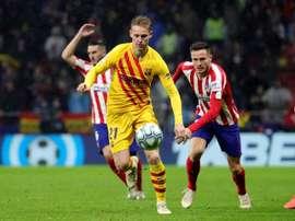 De Jong lieto di giocare la Champions nel Barça. EFE
