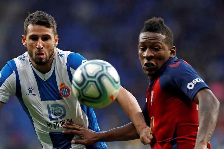 El Espanyol se ha venido abajo un año después. EFE