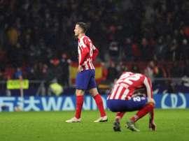 O pior ataque da história do Atlético de Madrid. EFE/Juanjo Martín