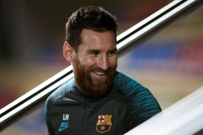 Bartomeu espera firmar al menos un contrato más a Messi