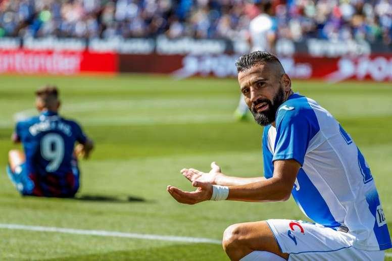 Siovas dejará el Leganés tras el descenso. EFE/JuanJo Martín