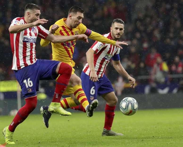 LaLiga: Posibles alineaciones del Barcelona vs Atlético de Madrid. EFE