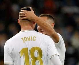 Jovic is having a hard time at Madrid. EFE