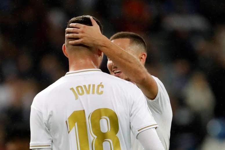 Jovic, convencido de su capacidad. EFE