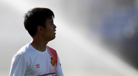 Kubo was ruled out by Barca. EFE