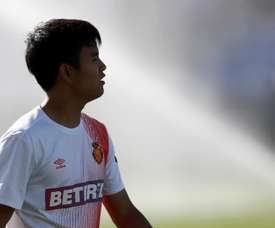 Betis are keen on Kubo. EFE