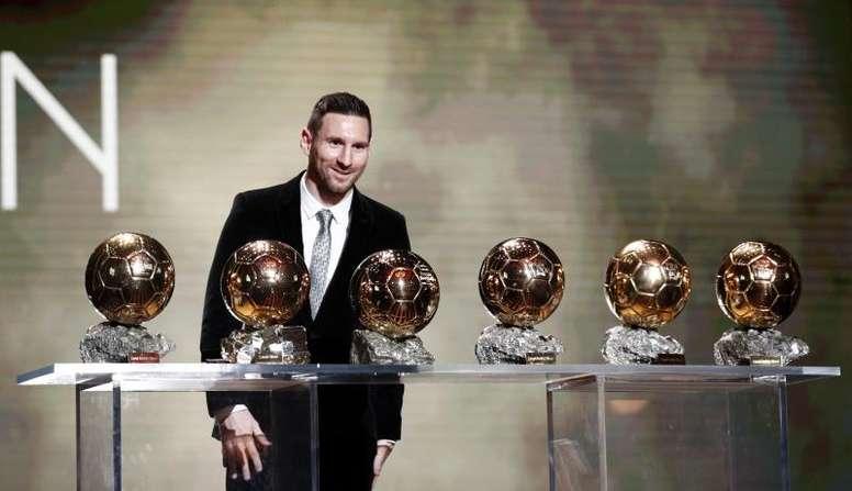 La prensa se rindió a Messi. EFE
