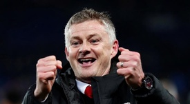 Ole Gunnar Solskjaer has overcome the challenge.  EFE/ Ian Langsdon/Archivo