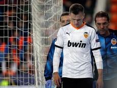 El Valencia se enfrenta al Levante en su próximo partido. EFE