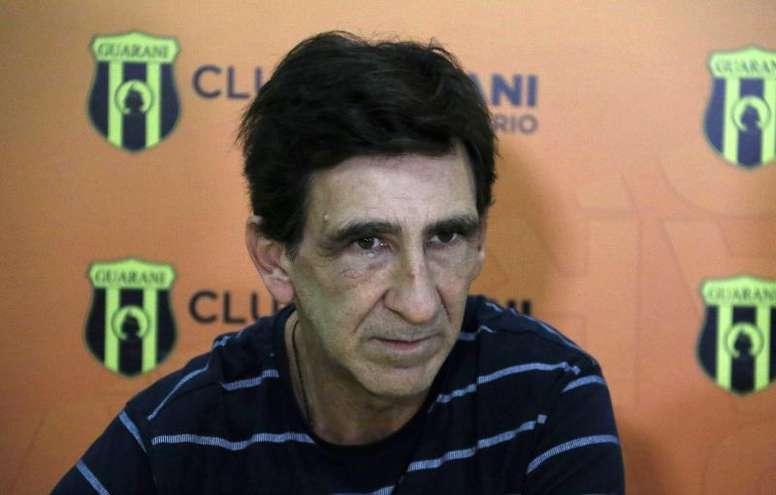 Costas busca su primera Copa de Paraguay. EFE/Archivo