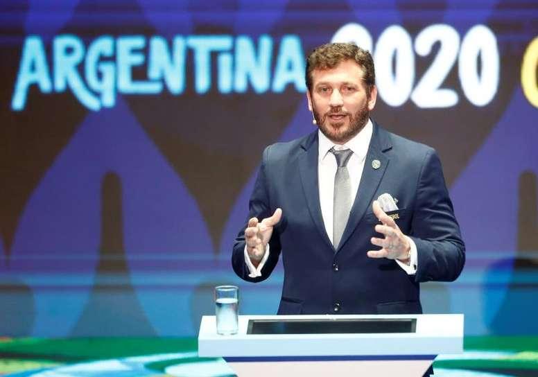 Domínguez explicó por qué la Copa América 2020 tiene dos sedes. EFE