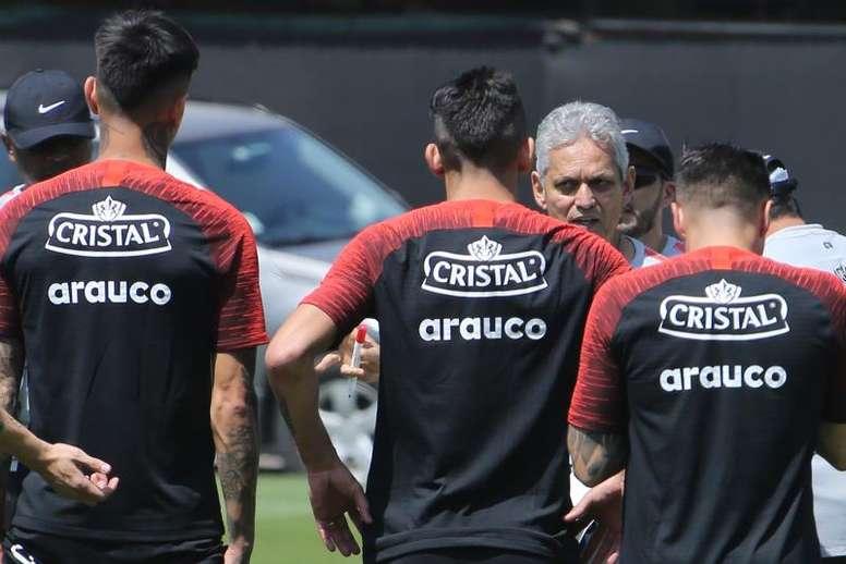 Rueda ya no se plantea salir. EFE/ Elvis González/Archivo