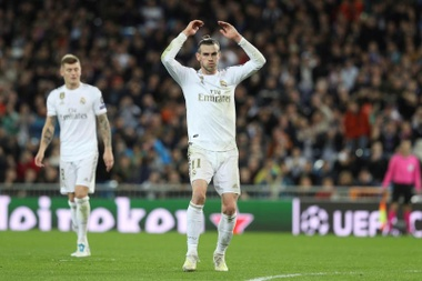 Bale, third injured player of the day for Madrid. EFE