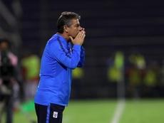 Alianza Lima administra la ventaja y logra el pase a la final. EFE/Ernesto Arias/Archivo