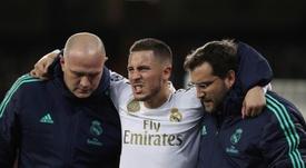 BREAKING NEWS: Hazard set to miss El Clasico. EFE
