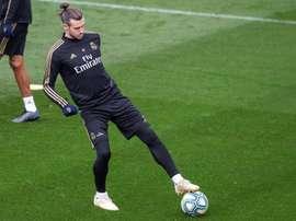 Bale pidió al club que no emitiera parte médico. EFE