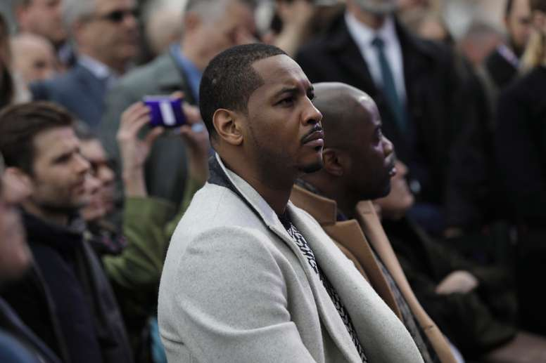 Carmelo Anthony, alero de la NBA. EFE/EPA/PETER FOLEY/ARCHIVO