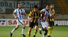 Facundo Pellistri interessa a Boca, Real Madrid e Flamengo. EFE/Gastón Britos