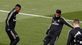 'Rodrycius' hace dudar a Zidane. EFE/Javier López Hernández