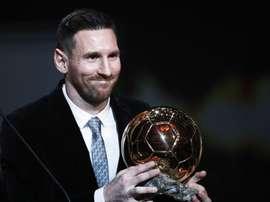 Lionel Messi a été le meilleur joueur du Championnat d'Espagne en novembre. EFE