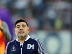 Maradona atacó con dureza a Riquelme. EFE/Archivo