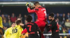 El Villarreal reclamó dos penaltis a su favor. EFE