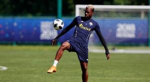 Michael Murillo, rumbo al Anderlecht. EFE/Esteban Biba/Archivo