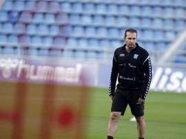 El técnico puso en valor el gran trabajo del equipo. EFE