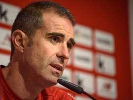 Garitano advierte del Betis, que llega en su mejor momento del curso. EFE